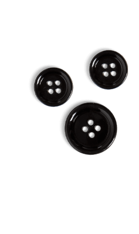 Three black buttons.