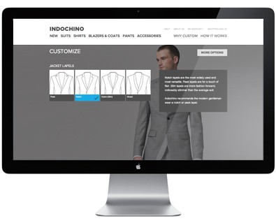 Indochino online suit customization