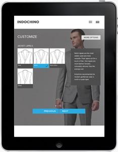 Indochino online suit customization