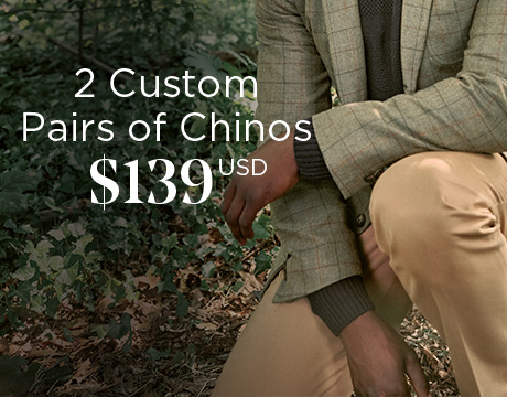 MADE-TO-MEASURE CHINOS