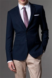 Ultimate Navy Blue Blazer