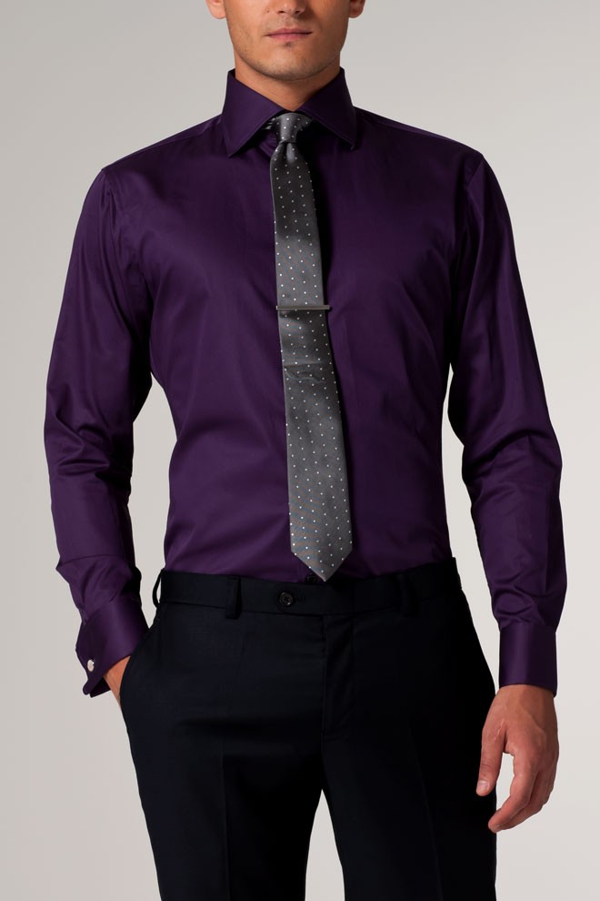 The Definitive Purple Shirt