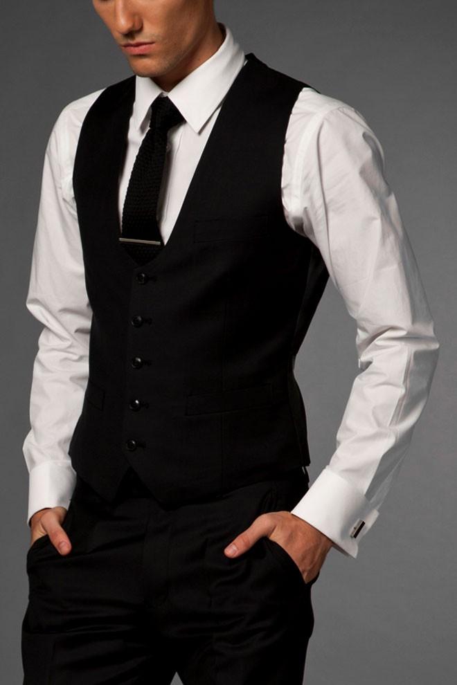 Fashion Forward Black Vest
