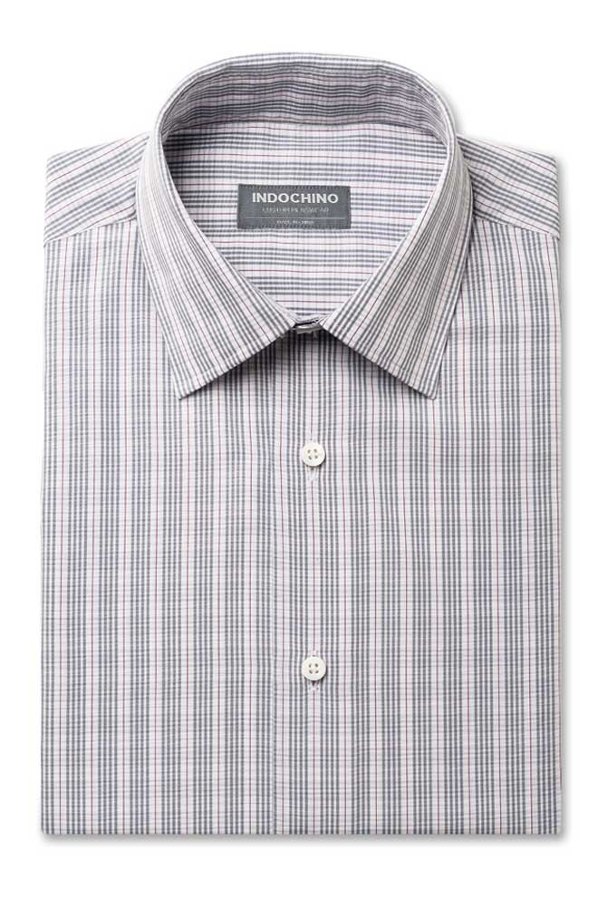 The ultimate gray purple white check shirt for Purple and white checked shirt