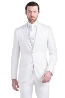 Men S Custom Suits Premium White Suit Indochino