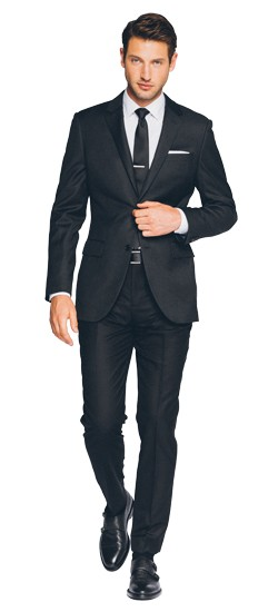 Essential Charcoal Suit