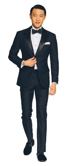 Premium Midnight Blue Tuxedo