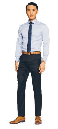 blue navy pants