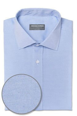 Blue Pinpoint Oxford Shirt