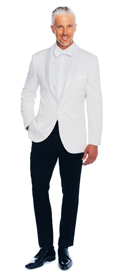 Image result for white shawl collar dinner jacket
