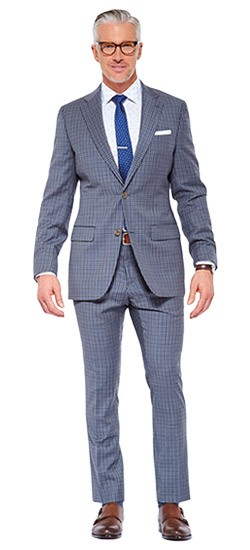 Gray Check Suit