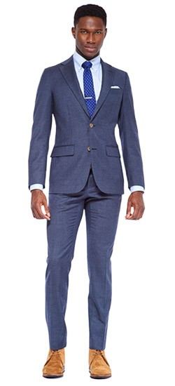 Blue Suits - Blue, Navy Blue & Indigo Blue Men's Suits | INDOCHINO
