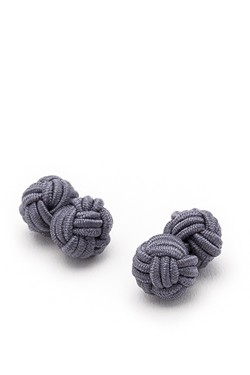 Gray Knot Cufflinks