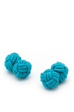 Turquoise Knot Cufflinks