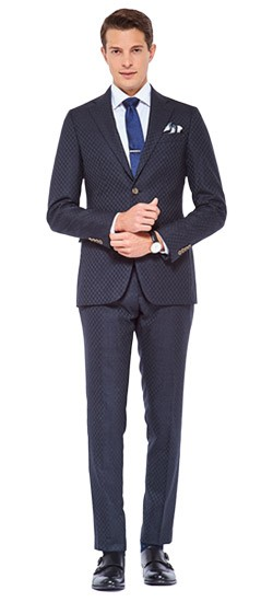 Shadow Pine Checkered Suit