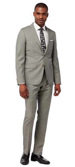 Classic Micro Houndstooth Suit