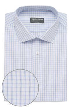White Shadow Windowpane Shirt