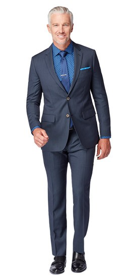 Monaco Blue Fineline Suit