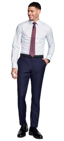 Hemsworth Navy Pants