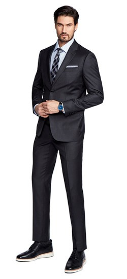 Hemsworth Charcoal Suit
