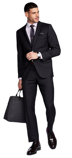 Hemsworth Black Suit