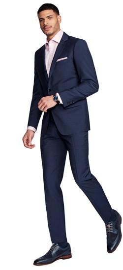 many styles lowest price elegant shoes Hamilton Sharkskin Blue Suit