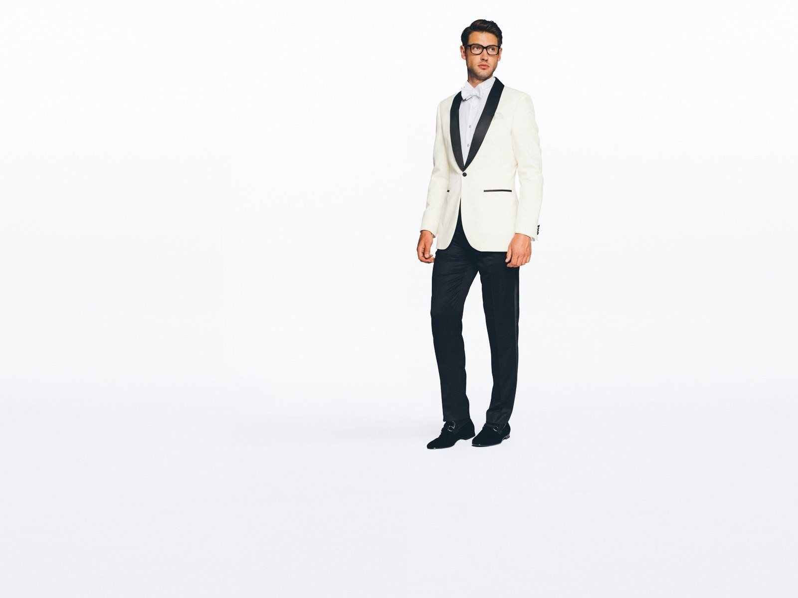 Hampton Black and Ivory Tuxedo