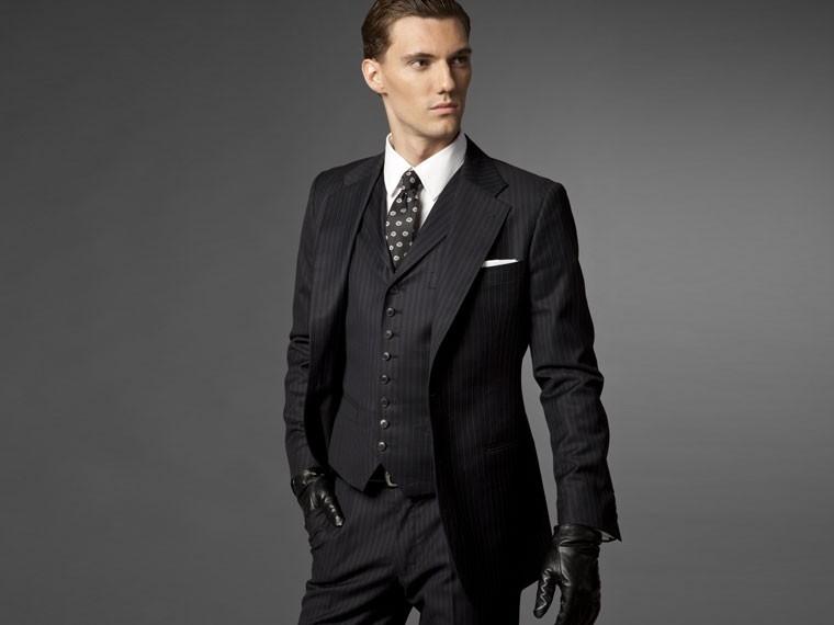The Hedonist Navy Three Piece Suit