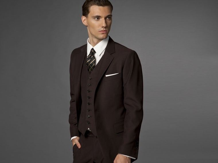 The Hedonist Brown 3 Piece Suit