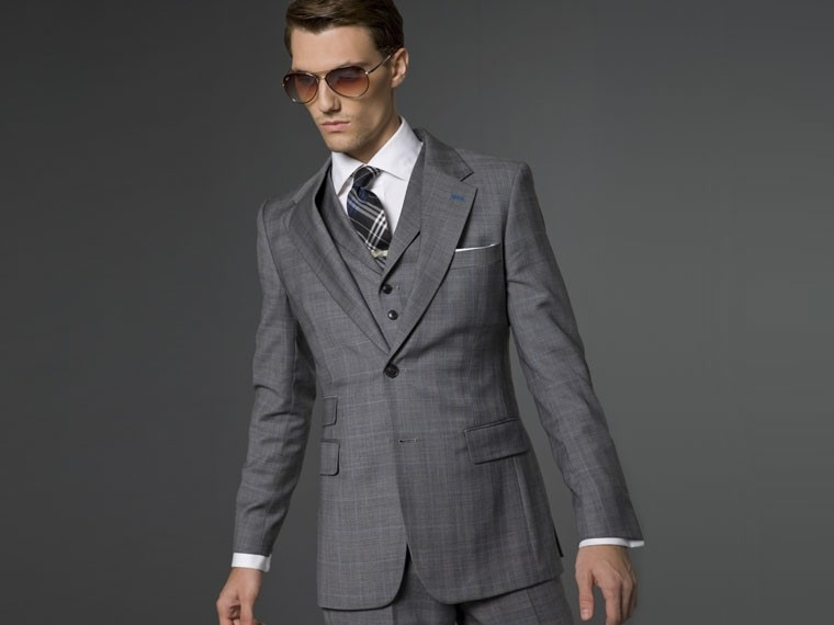 The London Grey 3-Piece Suit