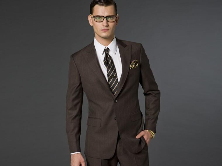 The Chocolate Brown Suit