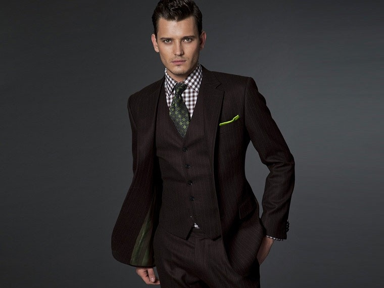 The Ambient Brown 3 Piece Suit