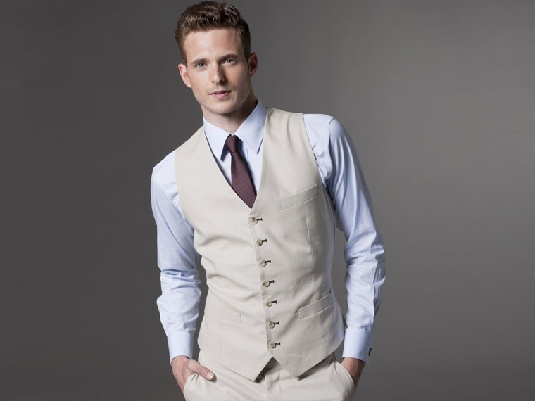 Khaki Suit Vests | Wedding Tips and Inspiration
