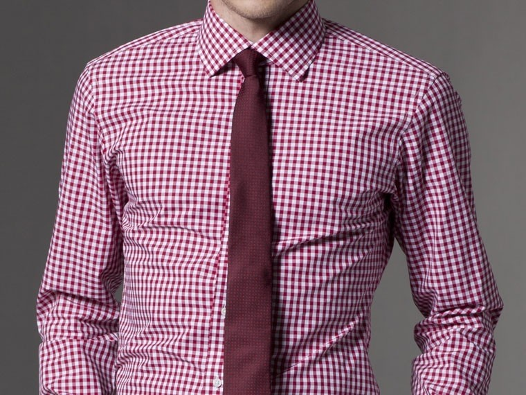The Urban Cowboy Red Gingham Dress Shirt 2