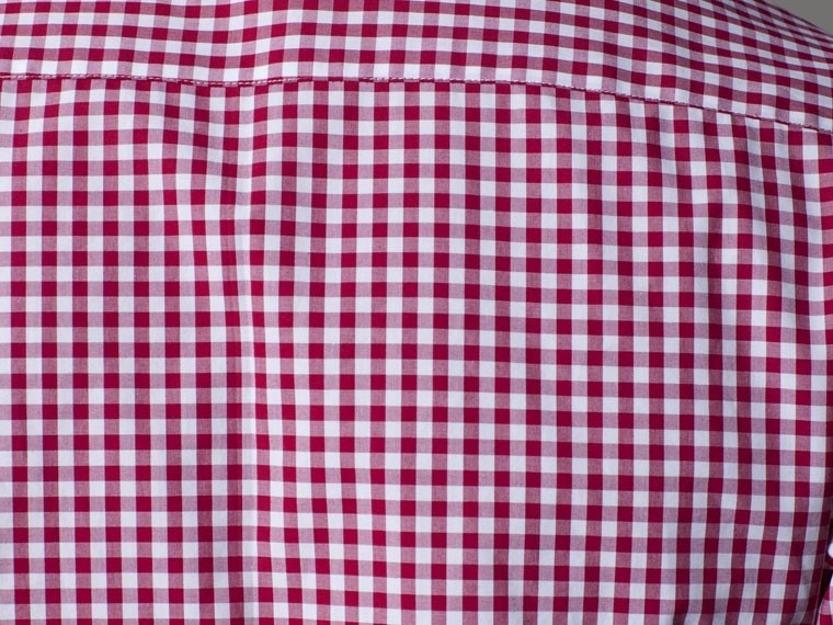 The Urban Cowboy Red Gingham Dress Shirt 4