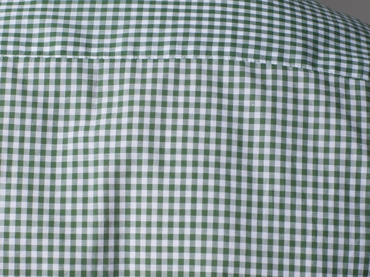 Grounded in Green Gingham Dress Shirt 4