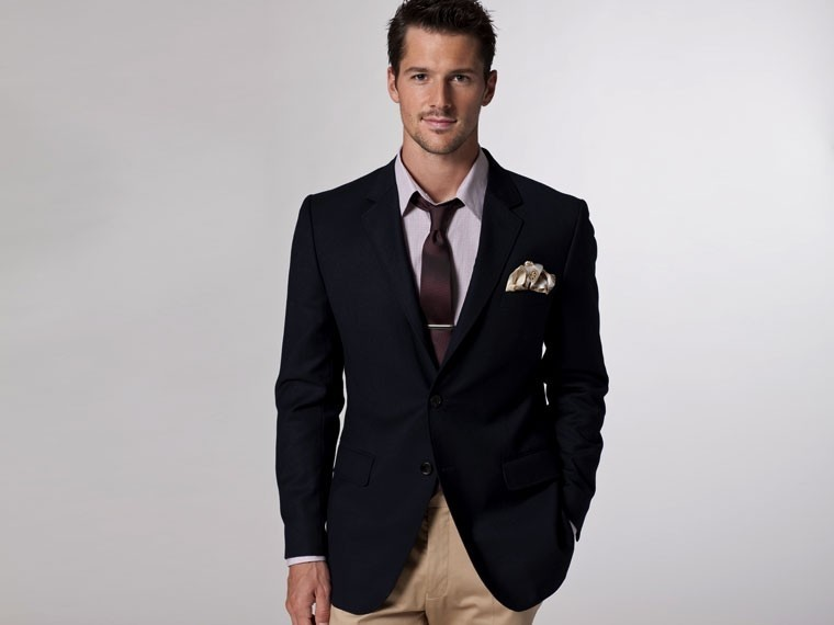 The Ultimate Navy Blue Blazer