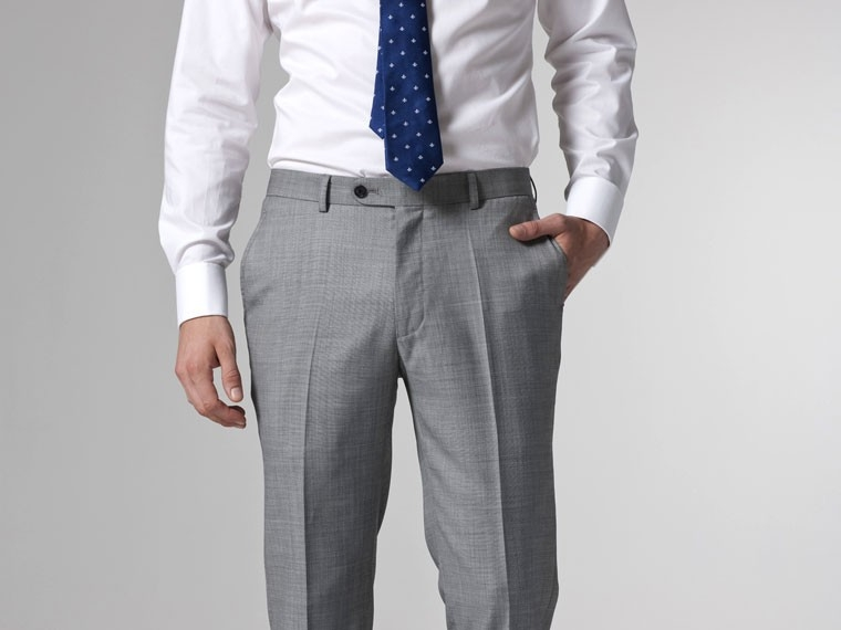 Campore Light Gray Dress Pants
