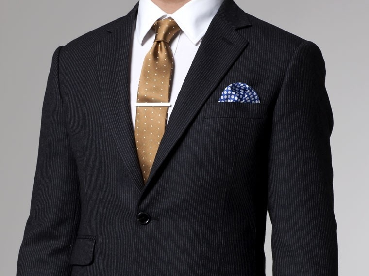 Charcoal Flannel Pinstripe Suit 2