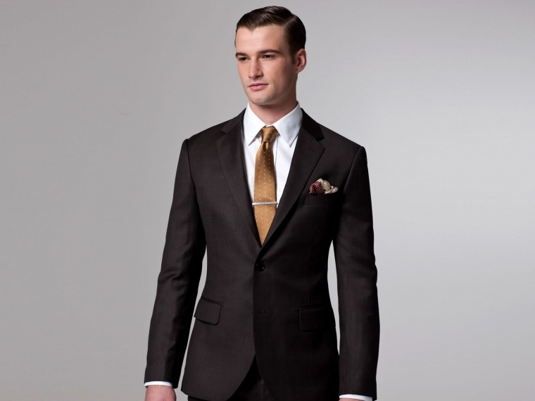 Essential Brown Suit 1