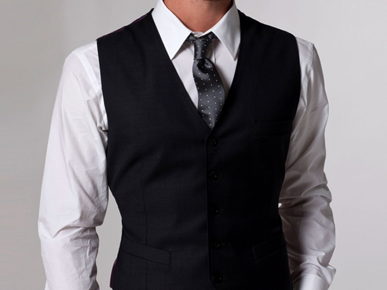 Timeless Charcoal Vest 2