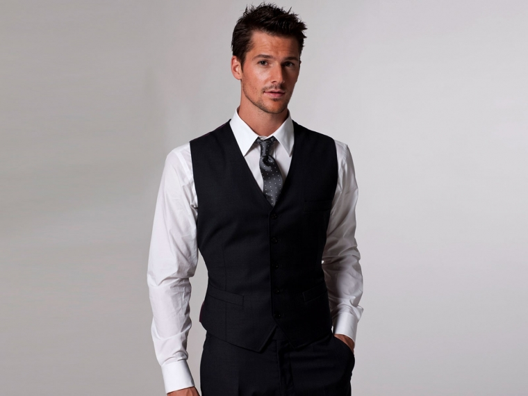 Timeless Charcoal Vest 1