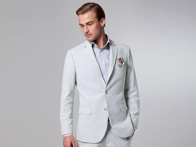 The Powder Blue Southern Seersucker Suit
