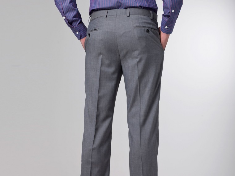 The Superhero Gray Twill Suit 8
