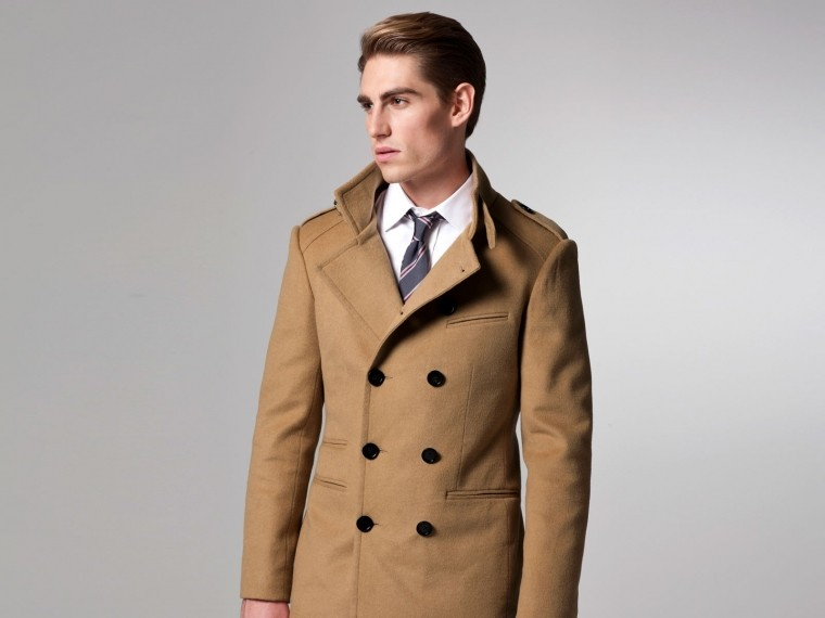 The Essential Camel Military Coat