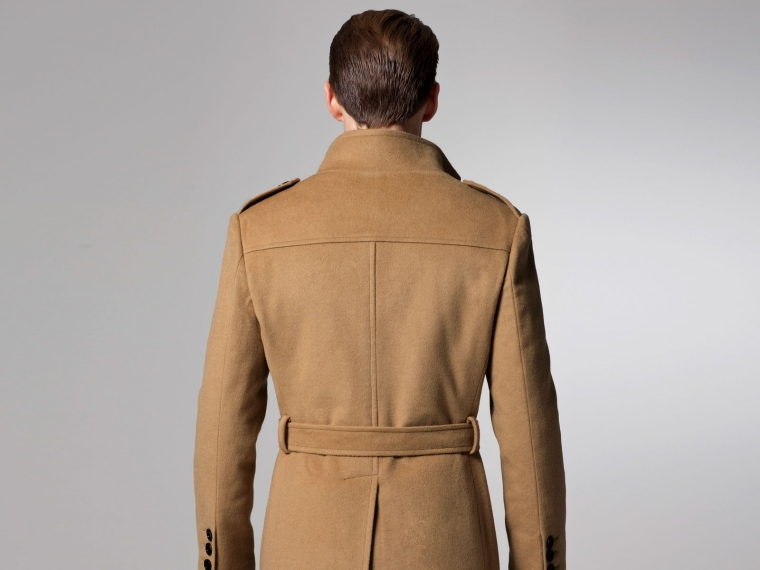 The Essential Camel Military Coat 3