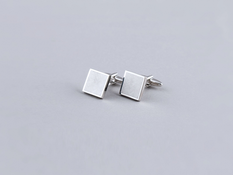 Herringbone Cufflinks 1
