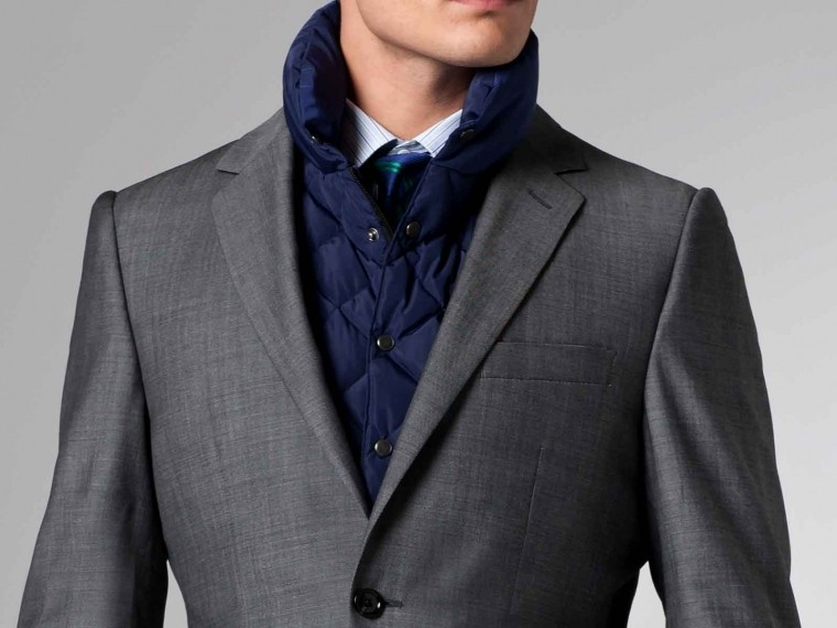 The Nanotech Storm Gray Twill Suit 2