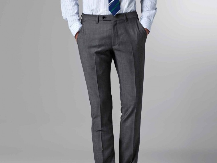 The Nanotech Storm Gray Twill Suit 5