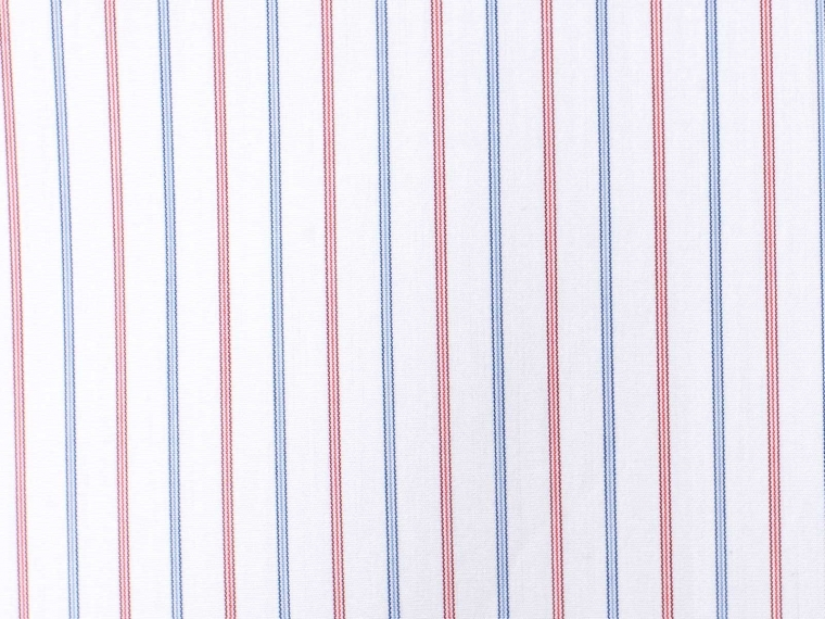 The Blizzard Soft Red & Blue Pinstripe Shirt 3